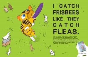 Seattle, WA Copywriter - Royal Canin Frisbee